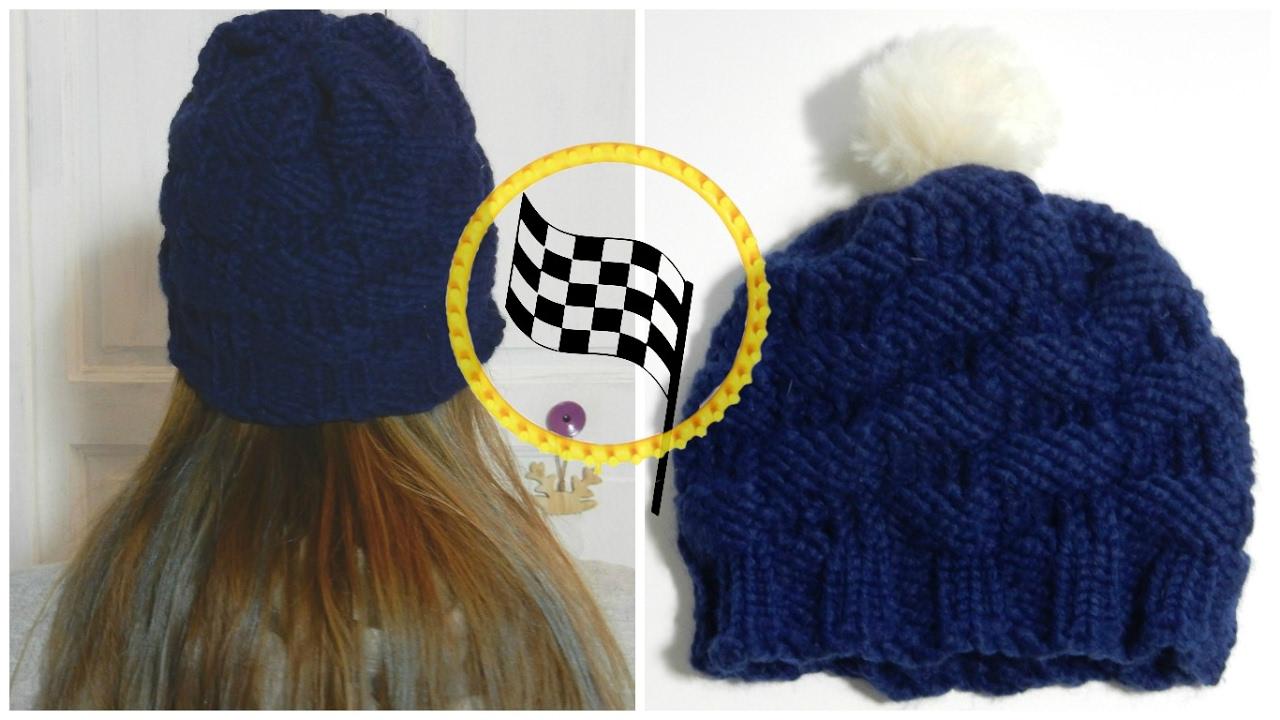 Tricoter un bonnet tricotin