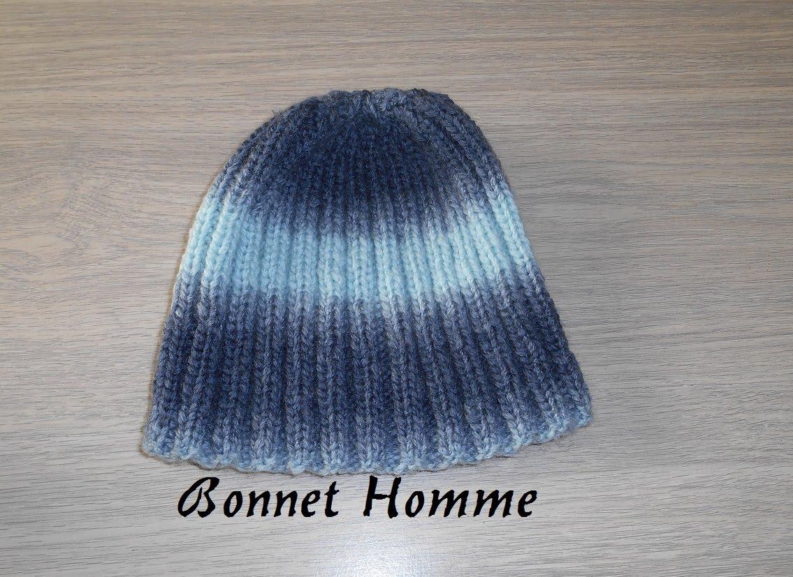 9b3eb6c1bd19 Comment tricoter un bonnet avec une aiguille circulaire - Idées de ...