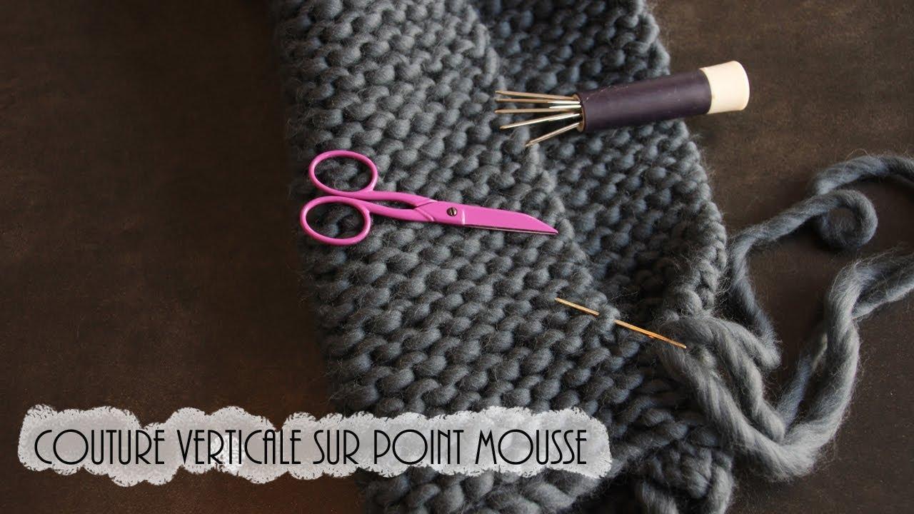 Tricot point mousse couture - Idées de tricot gratuit