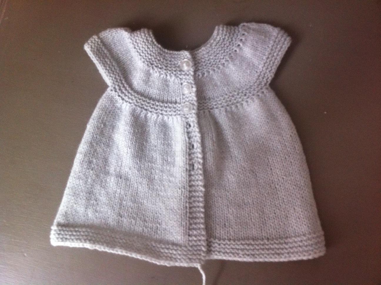 d09ffbed03eb Tricoter robe facile femme - Idées de tricot gratuit