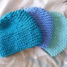 Tricot bonnet naissance débutant - Idées de tricot gratuit bb9abc70c8a
