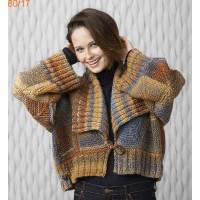 Modèle gilet tricot femme gratuit à imprimer