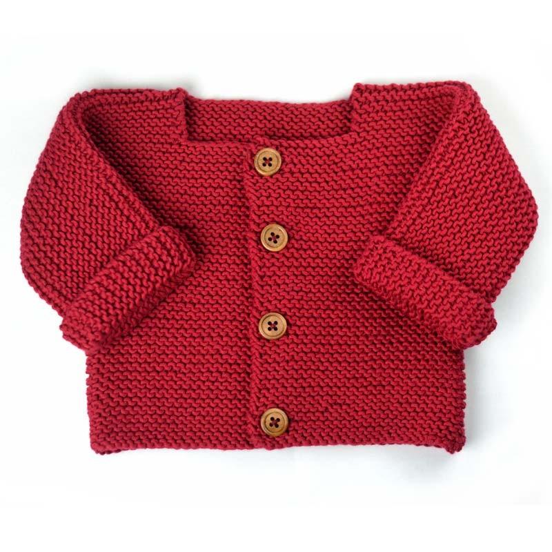 Gilet tricot nouveau né