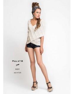 Modèle pull tricot femme