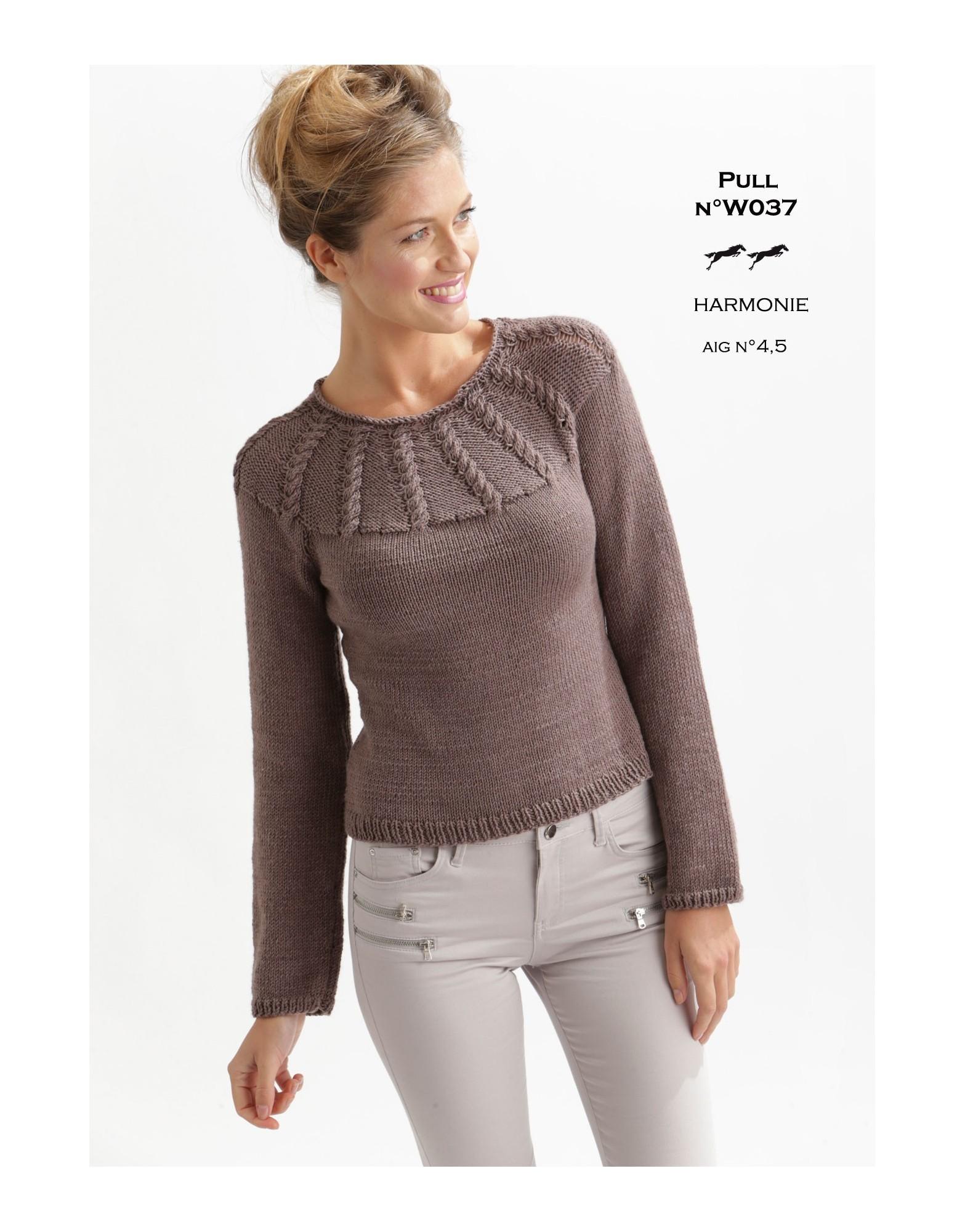Modele tricot femme aiguille 4