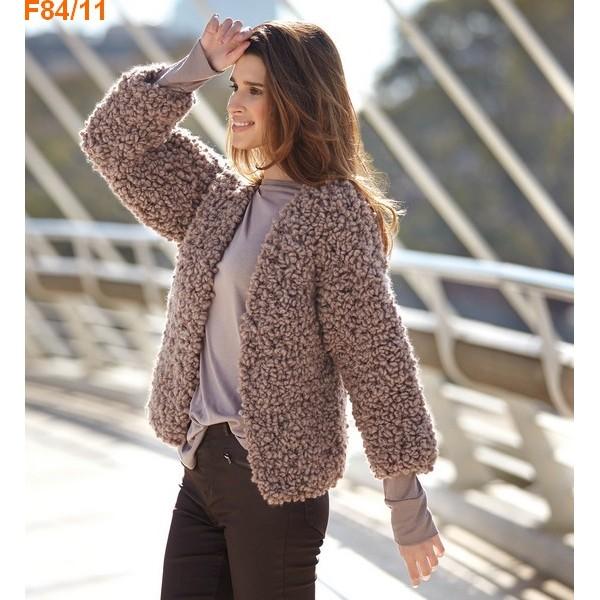 b747be246793 Modele tricot gilet femme grosse laine - Idées de tricot gratuit