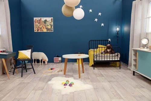 Chambre bébé garçon bleu nuit - Idées de tricot gratuit