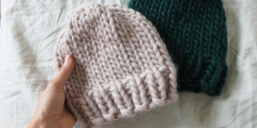 0c30076df18 Tricot bonnet bebe grosse laine - Idées de tricot gratuit