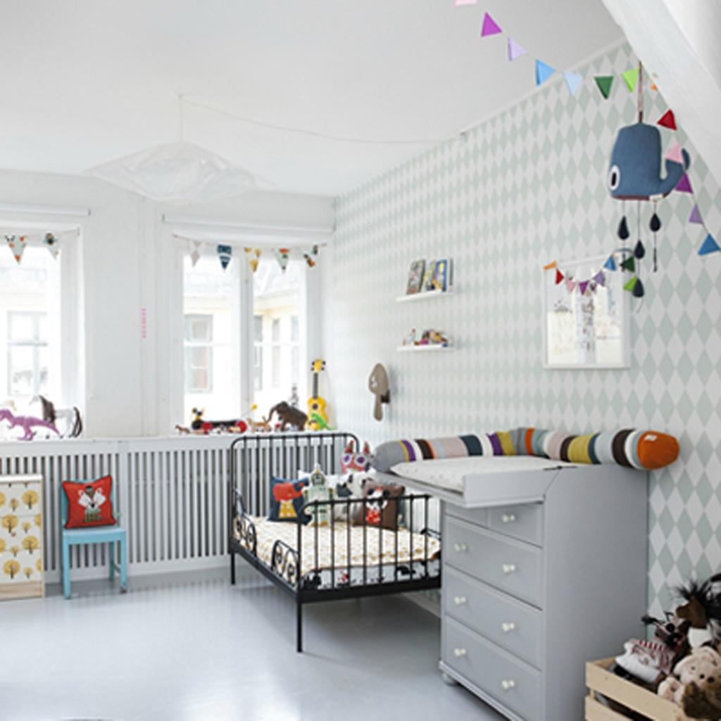 Deco lit enfant - Idées de tricot gratuit