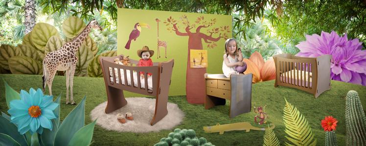 Décoration chambre bébé garçon jungle - Idées de tricot gratuit