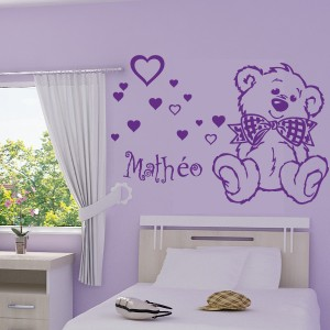 stickers nounours chambre b b pas cher id es de tricot. Black Bedroom Furniture Sets. Home Design Ideas