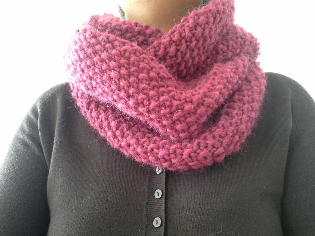 Tricot tour de cou - Idées de tricot gratuit