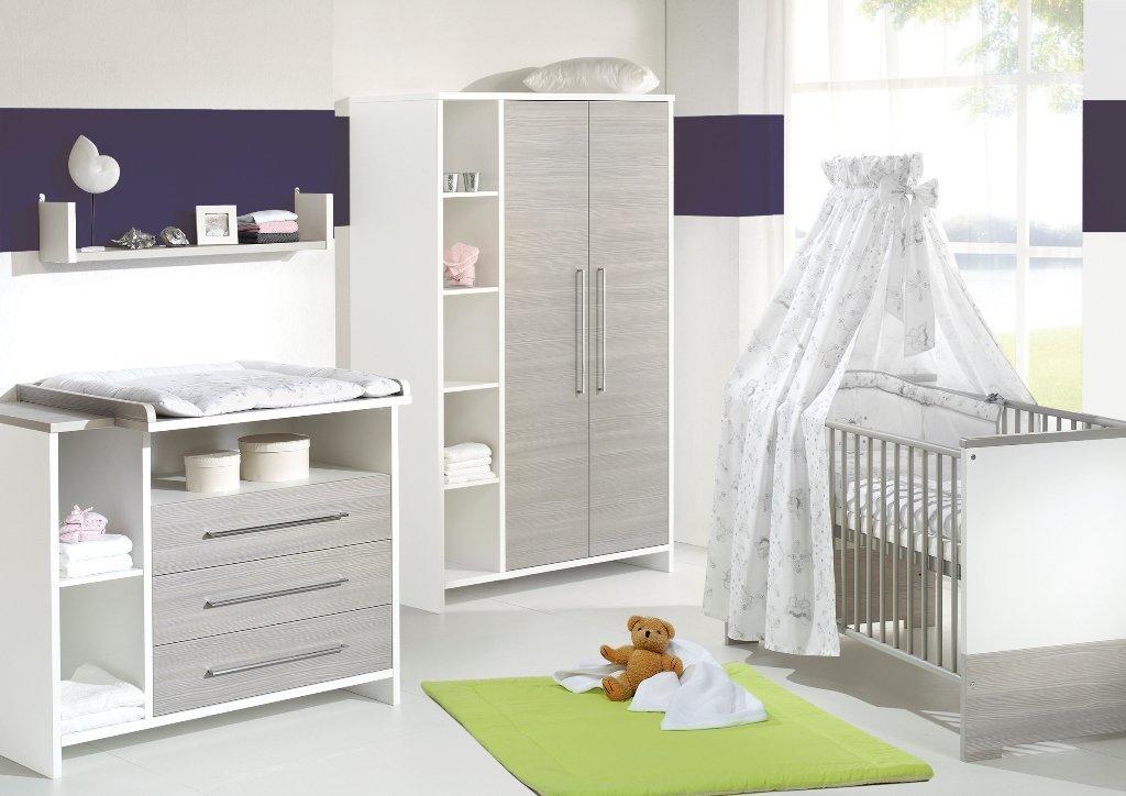 Chambre bébé lit commode