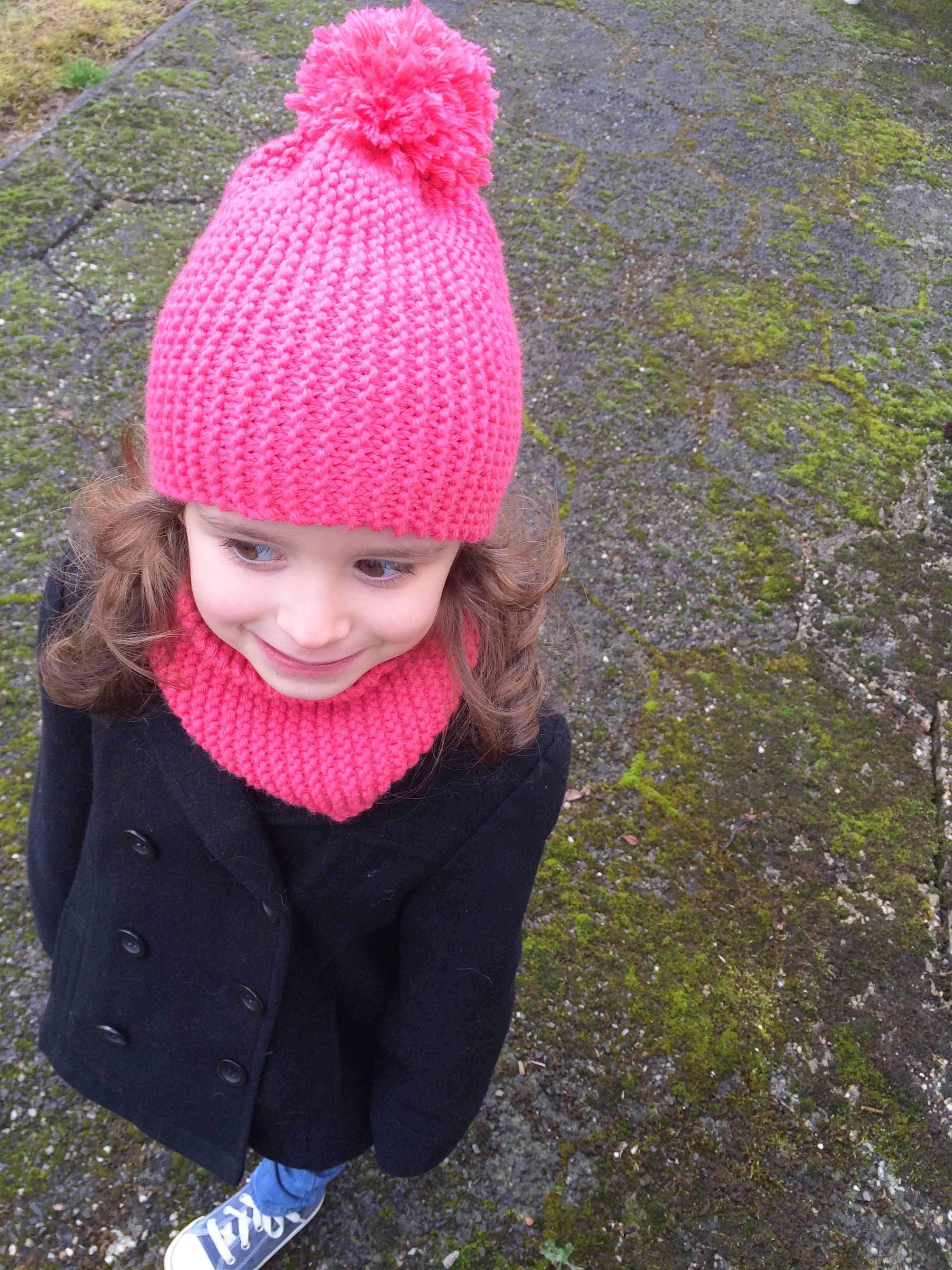 bcde7b4b22de Tricoter un bonnet point mousse - Idées de tricot gratuit