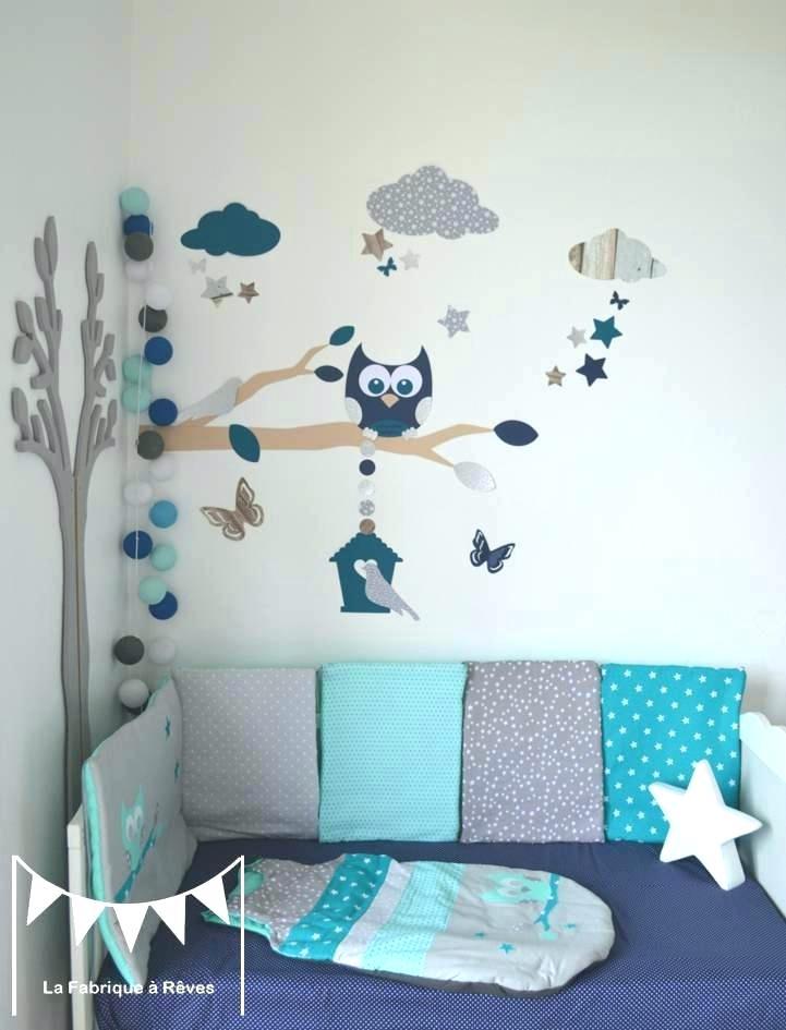 Stickers chambre bébé mixte