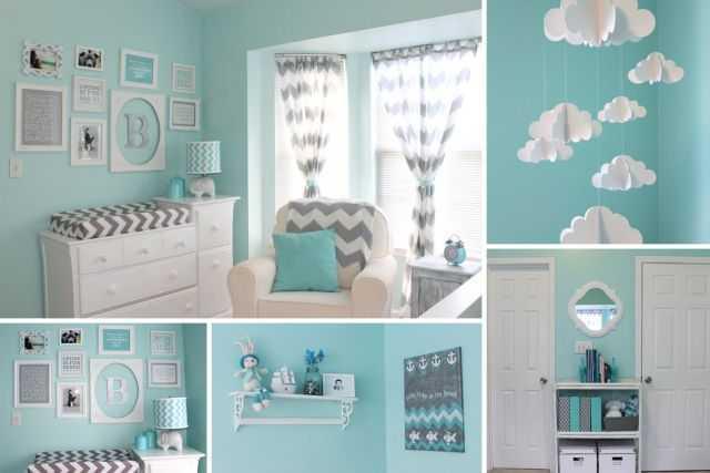 Chambre bebe fille bleu - Idées de tricot gratuit