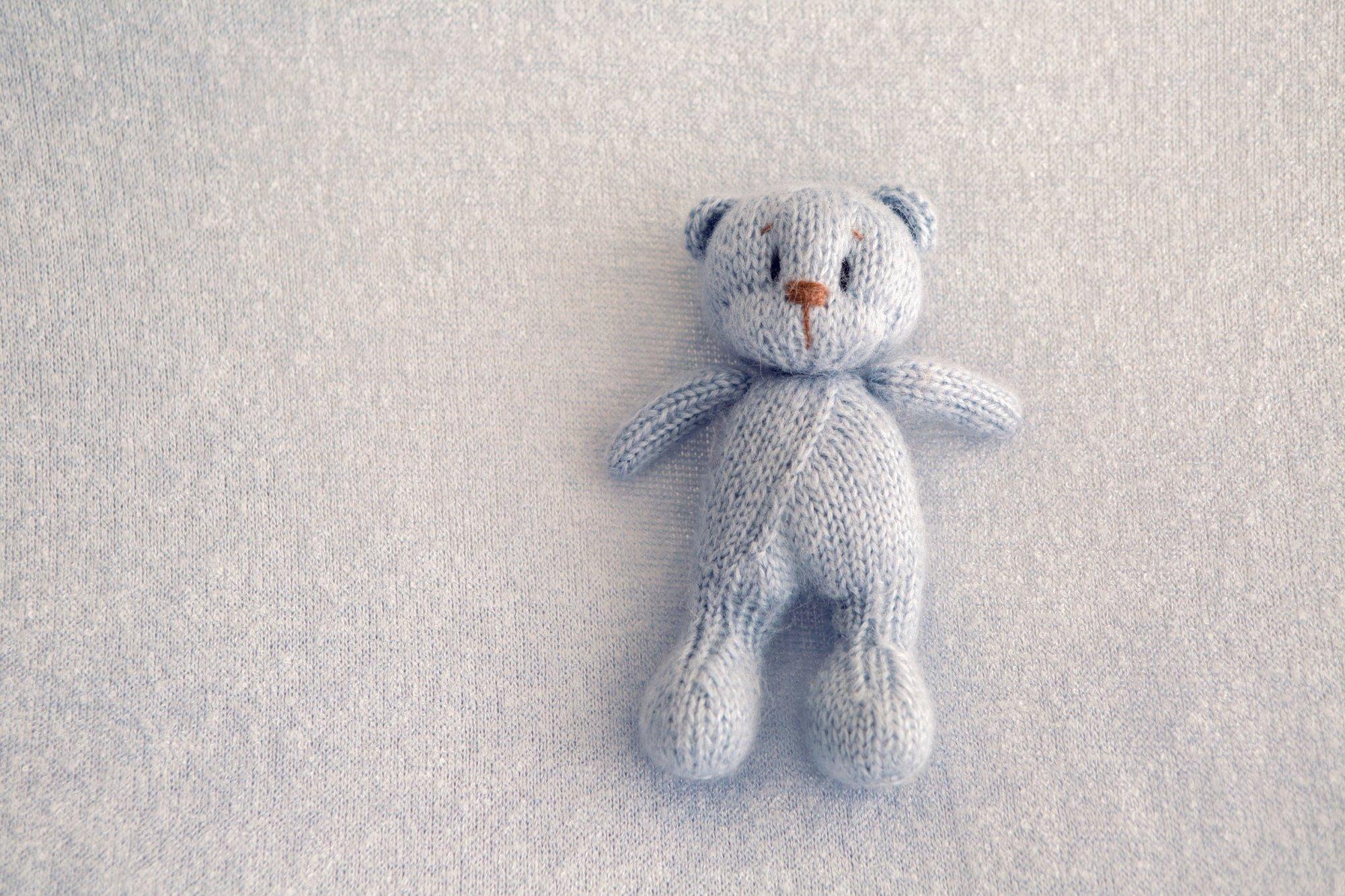 Tricoter vetement pour ours en peluche