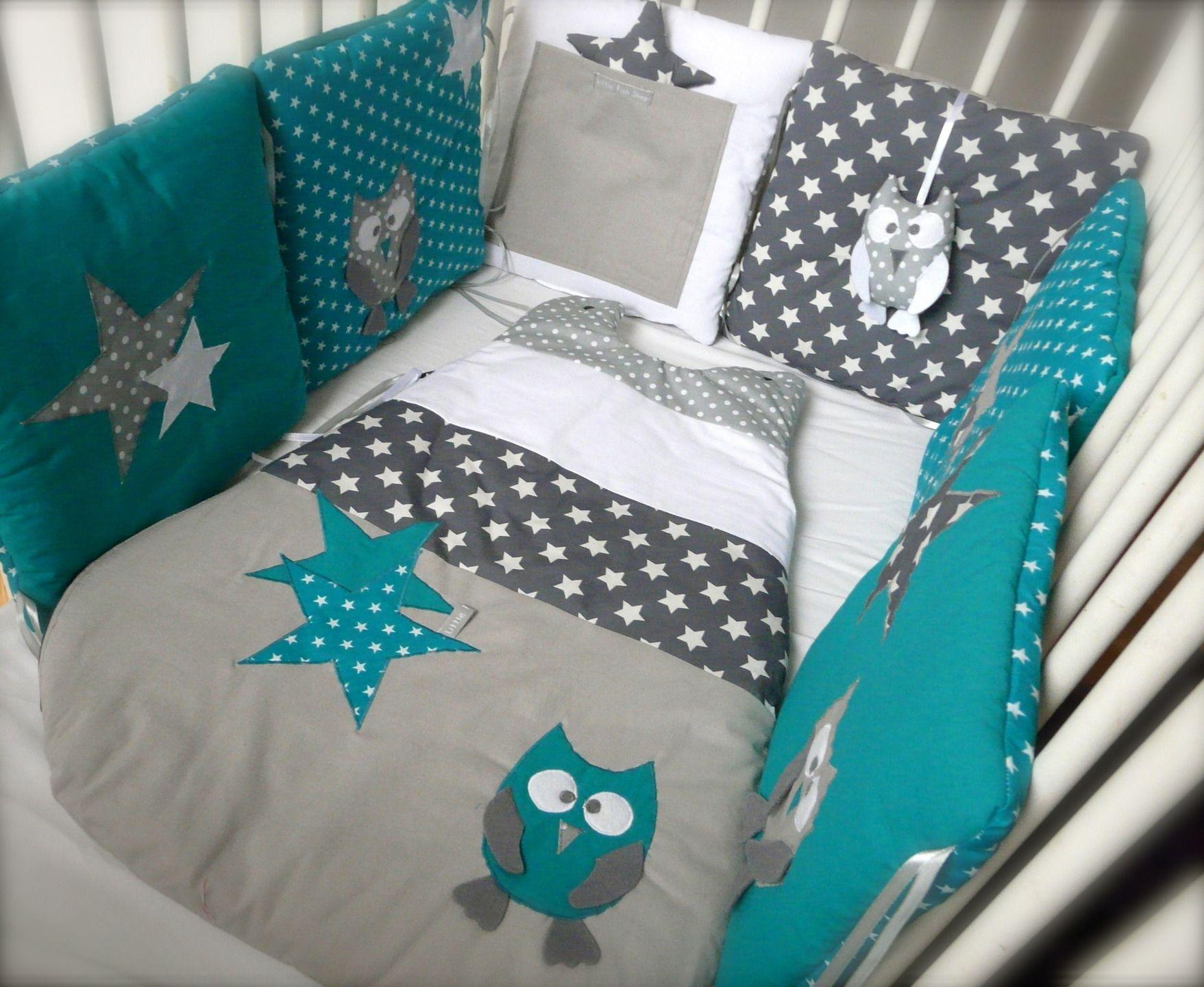 Deco chambre bebe bleu canard et gris - Idées de tricot gratuit