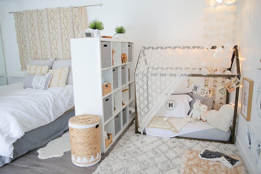 Aménagement chambre bébé dans chambre des parents - Idées de tricot ...