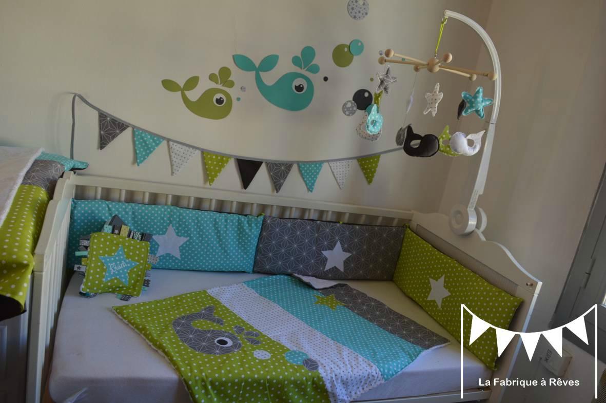 Déco chambre bébé turquoise - Idées de tricot gratuit