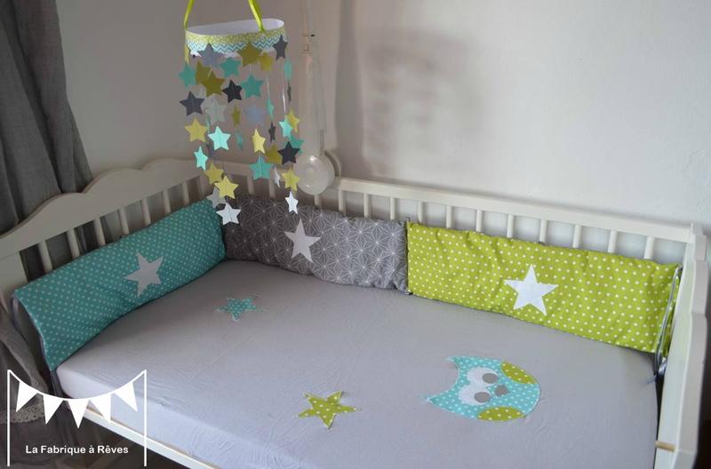 Chambre bebe gris et vert - Idées de tricot gratuit