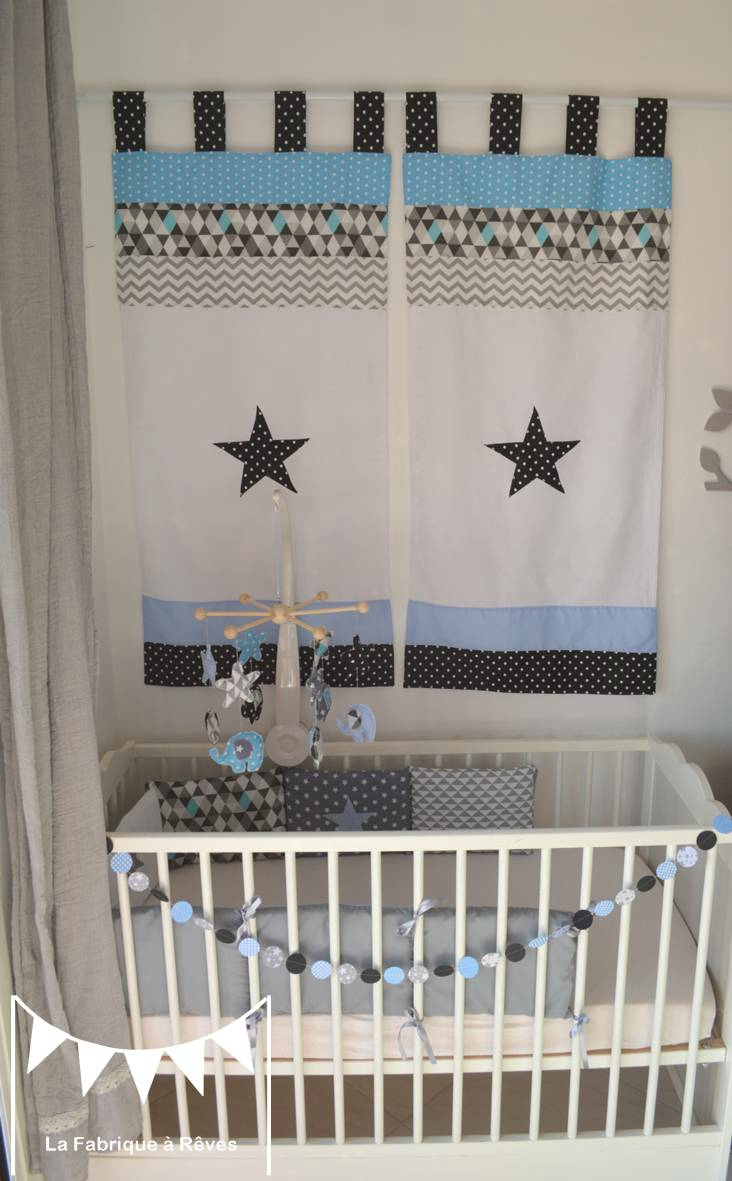 Rideau chambre bébé garçon nuage - Idées de tricot gratuit