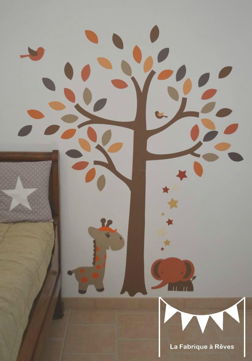 Chambre Bébé Orange Et Marron