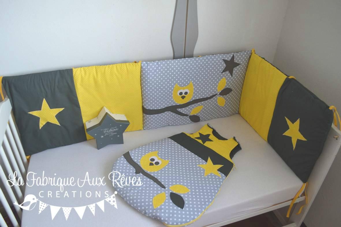 Deco chambre bebe gris blanc jaune - Idées de tricot gratuit