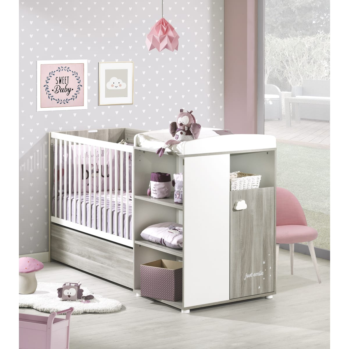 lit bebe blanc auchan id es de tricot gratuit. Black Bedroom Furniture Sets. Home Design Ideas