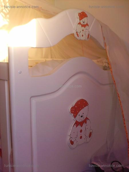 Chambre bébé calin caline tunisie
