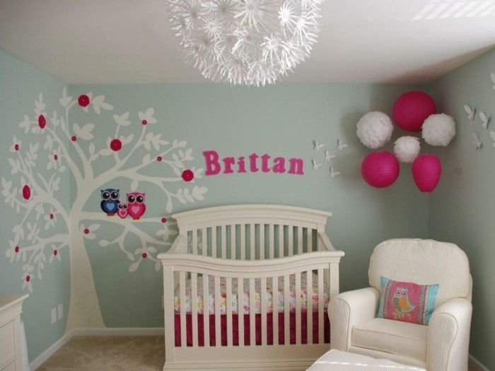 Idees decoration chambre bebe fille
