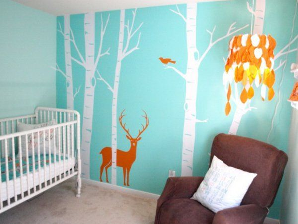 Deco murale chambre bébé garcon