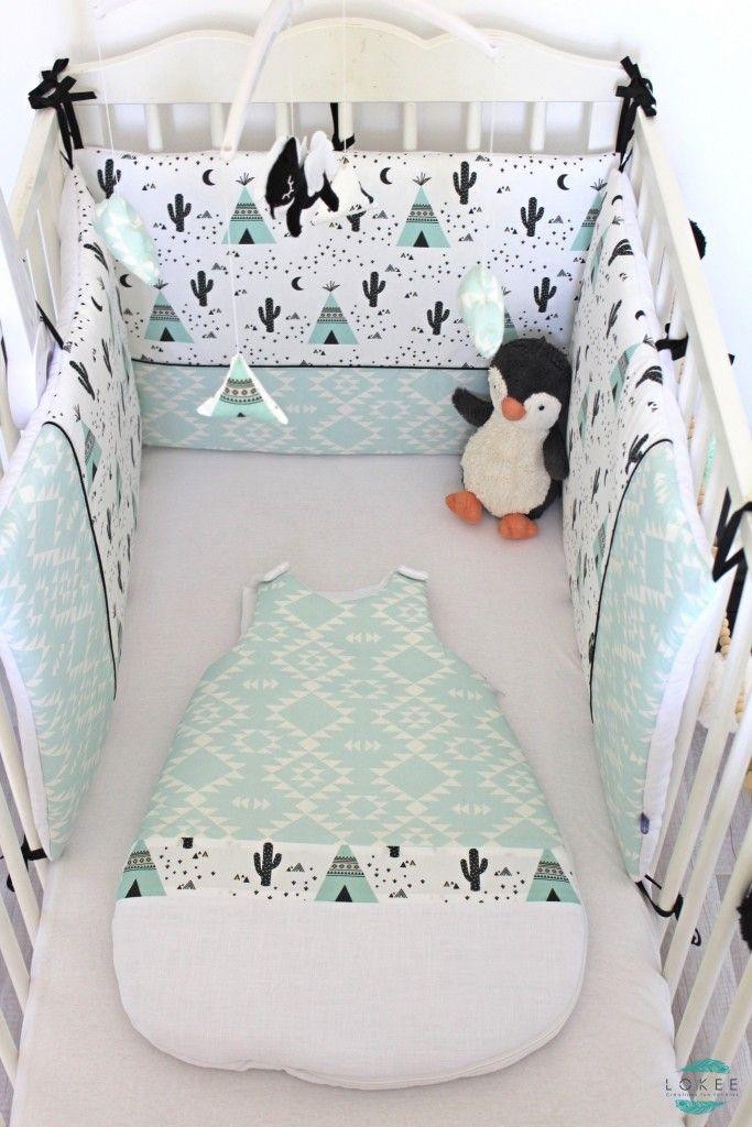 tour de lit b b gar on vert d 39 eau id es de tricot gratuit. Black Bedroom Furniture Sets. Home Design Ideas