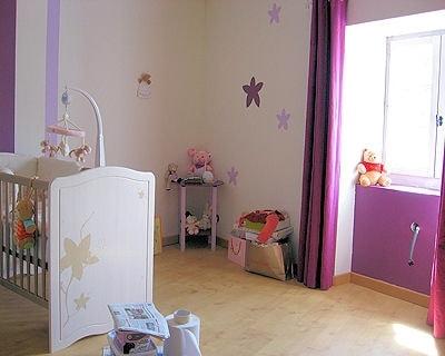 Chambre bébé parme prune - Idées de tricot gratuit