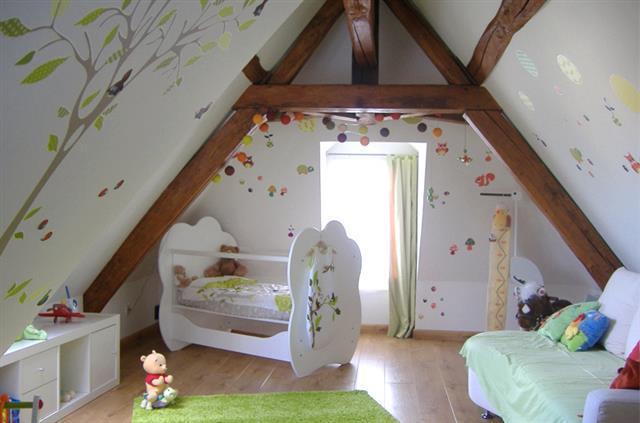 Amenager Petite Chambre Bebe Sous Combles Idees De Tricot