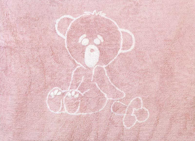 Tapis chambre bébé rose