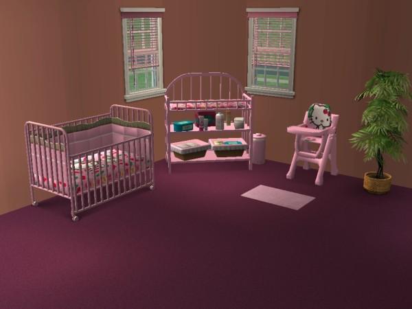 Chambre bébé sims 4