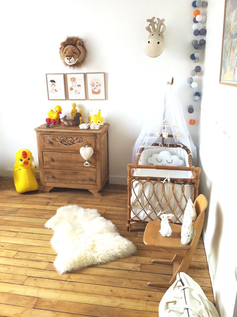 Idée déco chambre bébé vintage