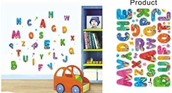 Stickers lettres chambre bébé