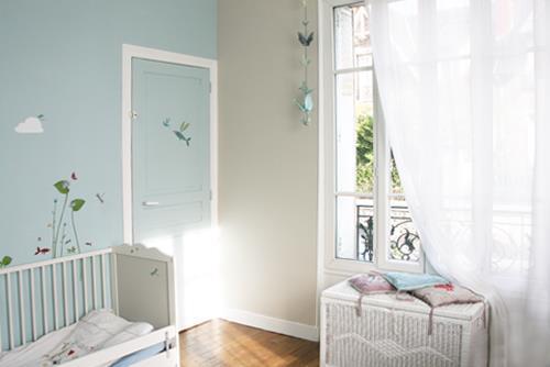 Chambre Bébé Garçon Bleu Ciel Idées De Tricot Gratuit