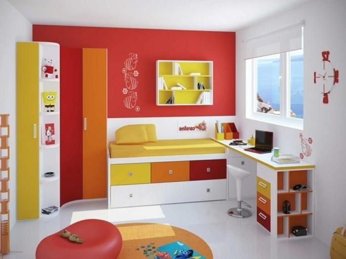 Chambre Orange Et Rouge - onestopcolorado.com -