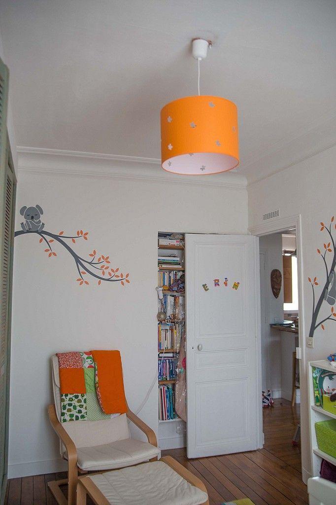 Chambre bébé vert orange - Idées de tricot gratuit
