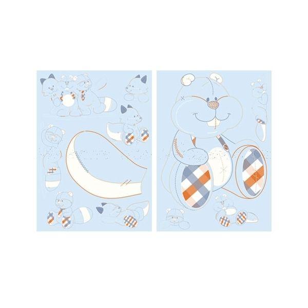 Stickers chambre bébé noukies