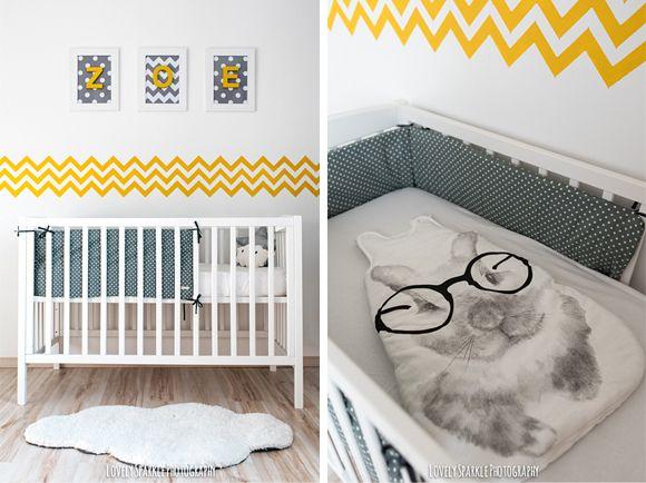 Chambre bebe grise jaune - Idées de tricot gratuit