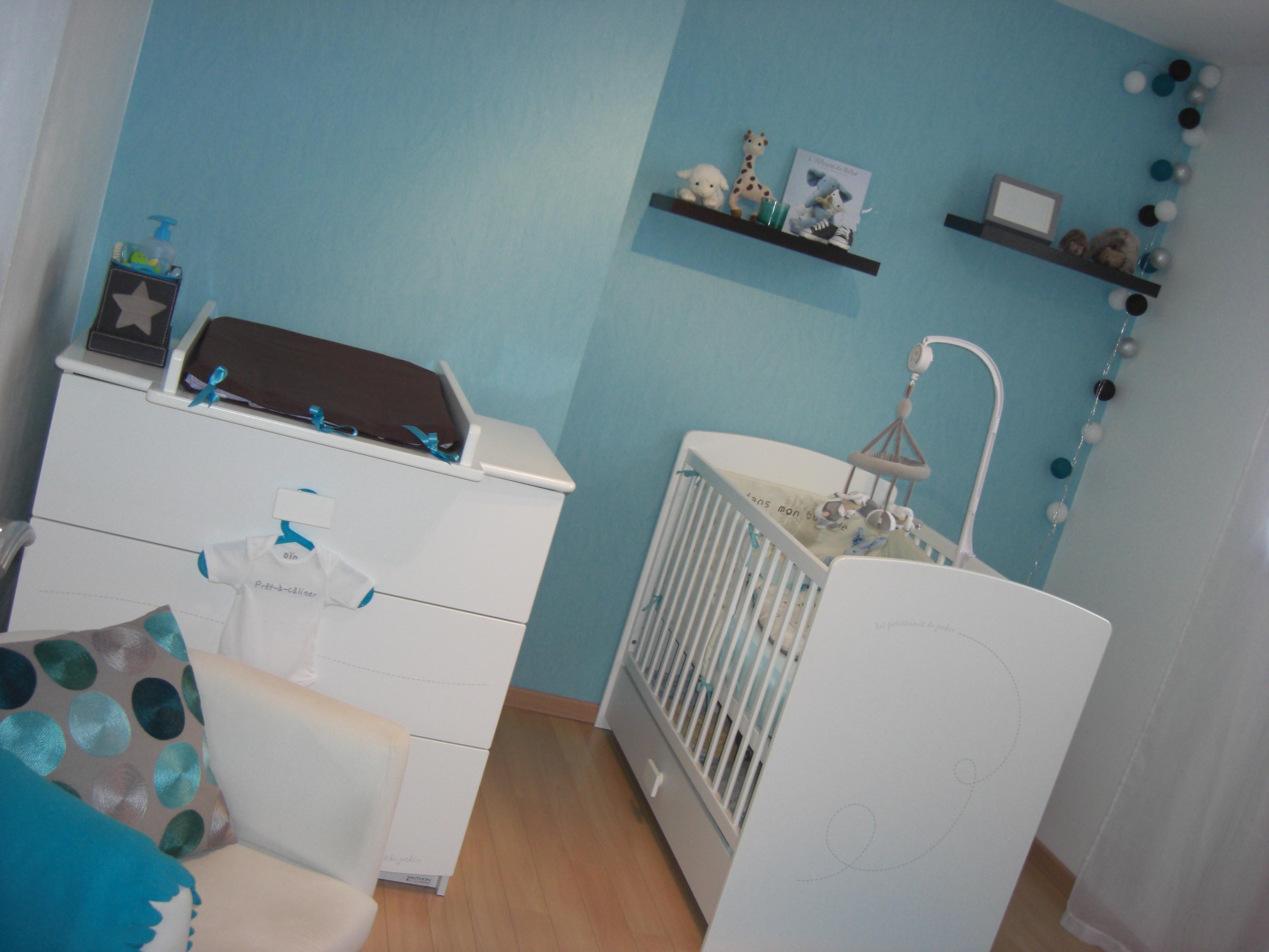 Deco Chambre Bebe Bleu Marine Et Jaune