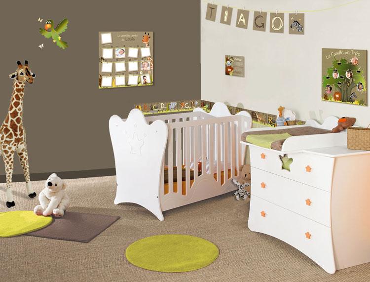 Chambre bébé 2 couleurs - Idées de tricot gratuit