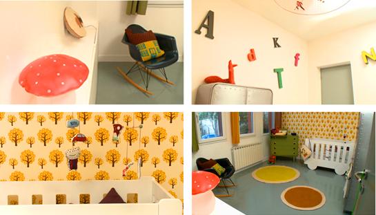Papier peint vintage chambre bebe - Idées de tricot gratuit
