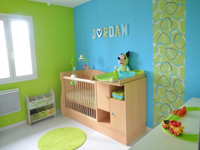 Stunning Chambre Bleu Enfant Ideas House Design Marcomilone Com