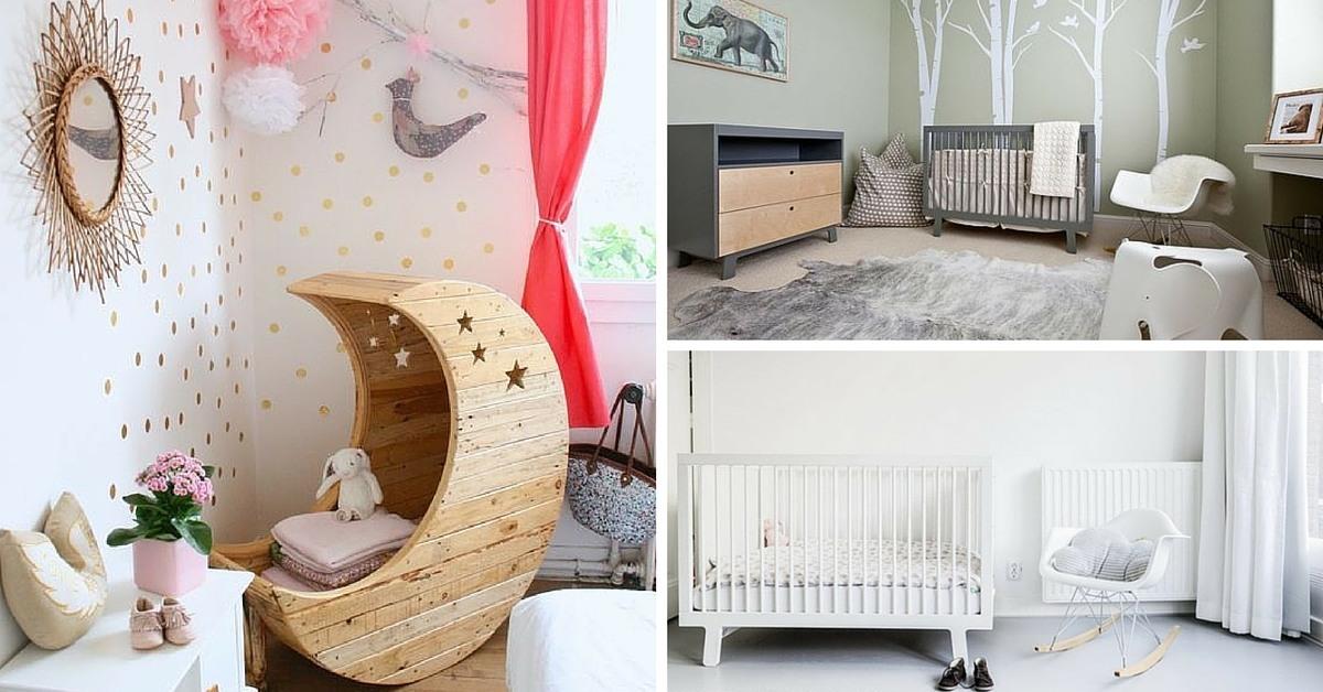 Chambre de bébé décoration