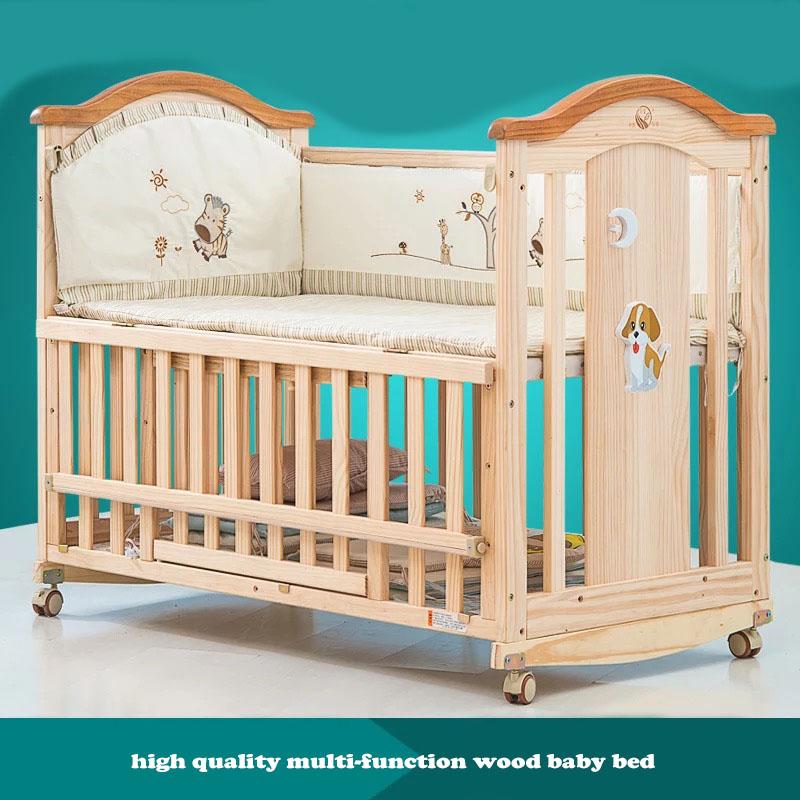 lit b b couleur bois naturel id es de tricot gratuit. Black Bedroom Furniture Sets. Home Design Ideas